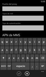 Configura el Internet - Nokia Lumia 520 - Passo 13