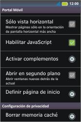 Configura el Internet - Motorola MotoSmart Me  XT303 - Passo 25