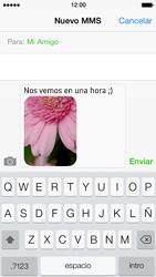 Envía fotos, videos y audio por mensaje de texto - Apple iPhone 5s - Passo 12