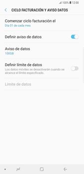 Desactivación límite de datos móviles - Samsung Galaxy S9 Plus - Passo 8