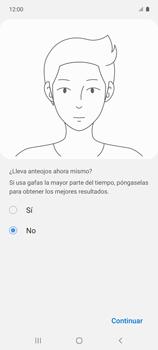 Cómo configurar el Face ID - Samsung Galaxy A51 - Passo 12