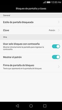 Desbloqueo del equipo por medio del patrón - Huawei G8 Rio - Passo 14