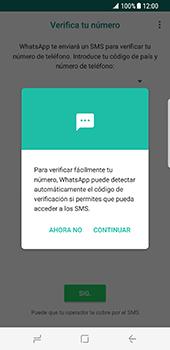 Configuración de Whatsapp - Samsung Galaxy S8 - Passo 10