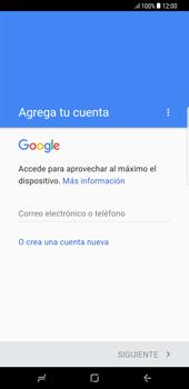 Crea una cuenta - Samsung Galaxy S8+ - Passo 3