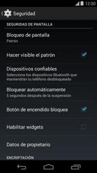 Desbloqueo del equipo por medio del patrón - Motorola Moto E (1st Gen) (Kitkat) - Passo 11
