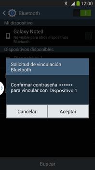 Conecta con otro dispositivo Bluetooth - Samsung Galaxy Note Neo III - N7505 - Passo 7