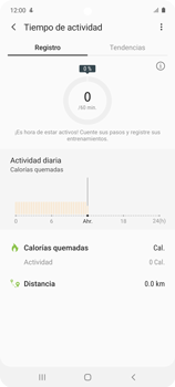 Cómo funciona el Samsung Health - Samsung Galaxy A51 - Passo 13