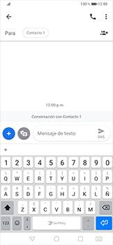 Envía fotos, videos y audio por mensaje de texto - Huawei P30 Pro - Passo 5