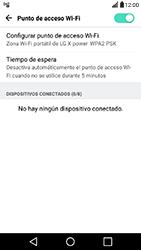 Configura el hotspot móvil - LG X Power - Passo 10