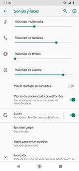 Cómo activar el modo de vibración o silencio - Motorola One Zoom - Passo 5