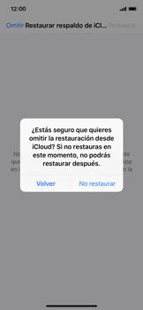 Configuración de Whatsapp - Apple iPhone X - Passo 12