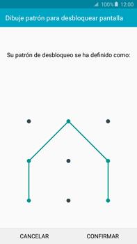 Desbloqueo del equipo por medio del patrón - Samsung Galaxy Note 5 - N920 - Passo 10