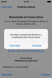 Crea una cuenta - Apple iPhone 4s - Passo 10