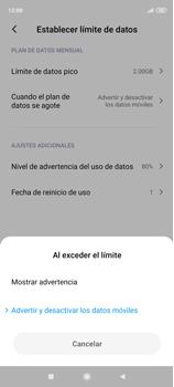 Desactivación límite de datos móviles - Xiaomi Redmi Note 9 Pro - Passo 8