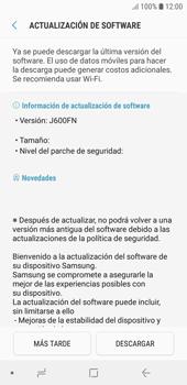 Actualiza el software del equipo - Samsung J6 - Passo 8