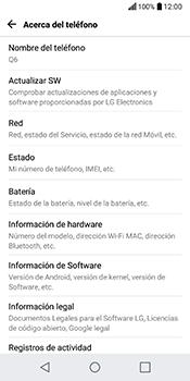 Actualiza el software del equipo - LG Q6 - Passo 6