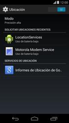 Uso de la navegación GPS - Motorola Moto X (2a Gen) - Passo 10