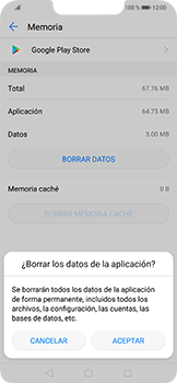 Limpieza de aplicación - Huawei Mate 20 Lite - Passo 8