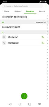 ¿Tu equipo puede copiar contactos a la SIM card? - LG G7 Fit - Passo 5