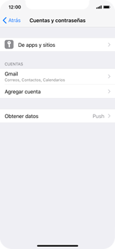 Desactivar la sincronización automática - Apple iPhone X - Passo 4