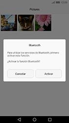 Transferir fotos vía Bluetooth - Huawei Cam Y6 II - Passo 11
