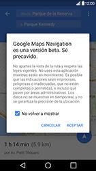 Uso de la navegación GPS - LG G5 - Passo 17