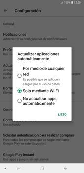 Cambiar configuración de actualizaciones de aplicaciones - Samsung A7 2018 - Passo 7