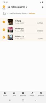 Transferir datos desde tu dispositivo a la tarjeta SD - Samsung Galaxy S20 - Passo 8