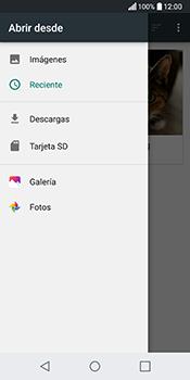 Envía fotos, videos y audio por mensaje de texto - LG Q6 - Passo 16