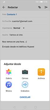 Cómo enviar un correo electrónico - Huawei P30 Pro - Passo 11