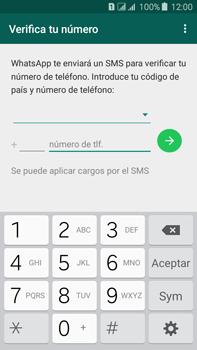 Configuración de Whatsapp - Samsung Galaxy J7 - J700 - Passo 5