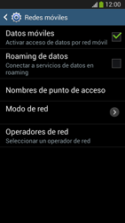 Desactiva tu conexión de datos - Samsung Galaxy S4 Mini - Passo 5