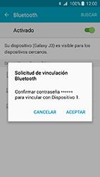 Conecta con otro dispositivo Bluetooth - Samsung Galaxy J3 - J320 - Passo 7