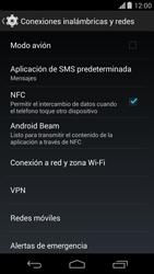 Configura el hotspot móvil - Motorola Moto X (2a Gen) - Passo 5