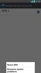 Configura el Internet - LG Optimus G Pro Lite - Passo 9