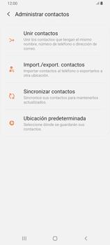 ¿Tu equipo puede copiar contactos a la SIM card? - Samsung Galaxy A80 - Passo 6