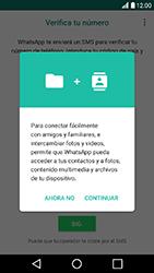 Configuración de Whatsapp - LG K10 2017 - Passo 5