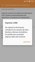 ¿Tu equipo puede copiar contactos a la SIM card? - Samsung Galaxy S7 - G930 - Passo 9