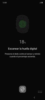 Habilitar seguridad de huella digital - Samsung Galaxy A51 - Passo 13
