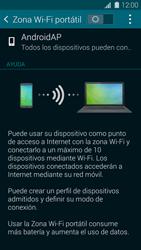 Configura el hotspot móvil - Samsung Galaxy S5 - G900F - Passo 6