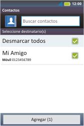 Envía fotos, videos y audio por mensaje de texto - Motorola MotoSmart Me  XT303 - Passo 6
