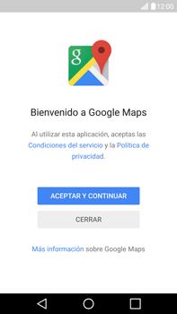 Uso de la navegación GPS - LG V10 - Passo 5