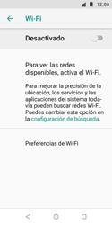 Configura el WiFi - Motorola Moto E5 Play - Passo 6