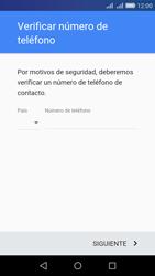 Crea una cuenta - Huawei Y6 - Passo 5