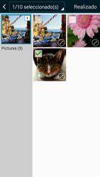 Envía fotos, videos y audio por mensaje de texto - Samsung Galaxy A5 - A500M - Passo 21