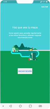 Uso de la navegación GPS - LG G7 Fit - Passo 4