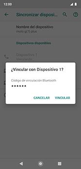Conecta con otro dispositivo Bluetooth - Motorola Moto G7 Plus - Passo 7