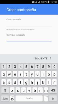 Crea una cuenta - Samsung Galaxy J7 - J700 - Passo 12