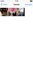 Envía fotos, videos y audio por mensaje de texto - Apple iPhone 5s - Passo 10