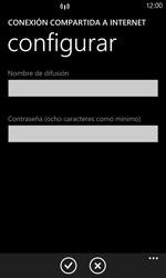 Configura el hotspot móvil - Nokia Lumia 920 - Passo 7